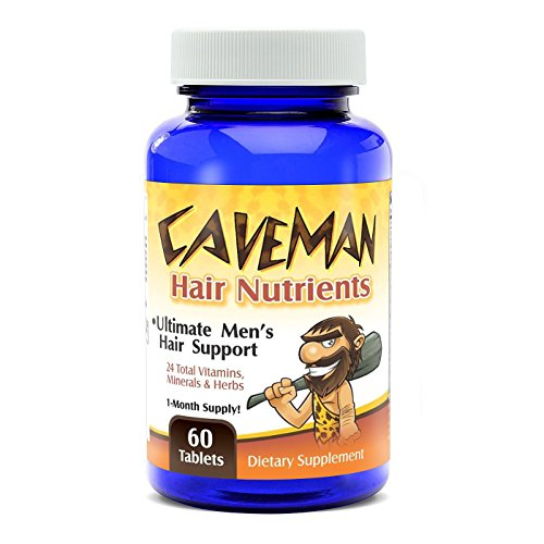 CAVEMAN-Hair-and-Beard-Growth-VitaminsSupplements-for-Men