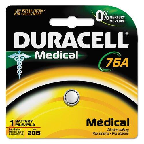 duracell Alkaline Medical Battery, 76/675, 1. 5V, 1/EA