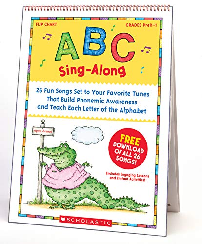 Scholastic Classroom Resources ABC Sing-Along Flip Chart and CD (SC978439)