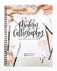 """Ever wanted to learn modern calligraphy lettering but didn't know where to begin?       """"Modern Calligraphy: A beginner's guide to pointed pen and brush pen lettering"""" includes everything you need to started. This book will cover many..."""
