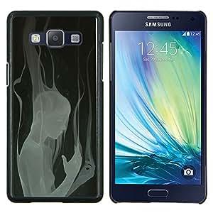 LECELL--Funda protectora / Cubierta / Piel For Samsung Galaxy A5 A5000 -- Profundo Mujer Heartbreak Diseño --