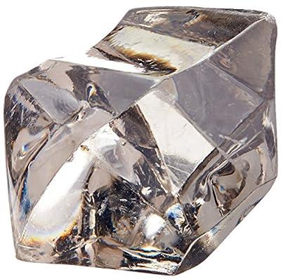 Acrylic Ice Rocks Crystal Vase Filler, 1-inch, 150-piece