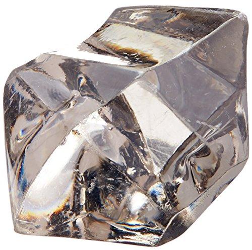 Homeford FPF0750407GY 150 Piece Acrylic Ice rocks Crystal...