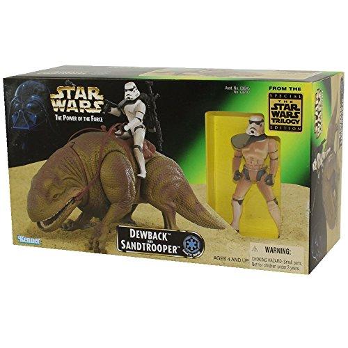 Star Wars Dewback (Star Wars Power of the Force Beast Pack Dewback & Sandtrooper Action)