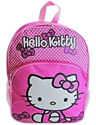 1 X Hello Kitty 16 Pink Dot Backpack by FAB