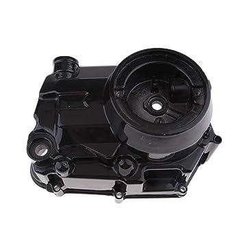 B Blesiya Cubierta de Caja de Embrague de Lado Derecho de Motor Negro Repuesto Parte: Amazon.es: Coche y moto