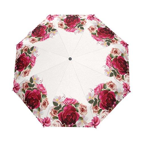 YZGO Pretty Roses Hyacinth Flowers Windproof & Waterproof...