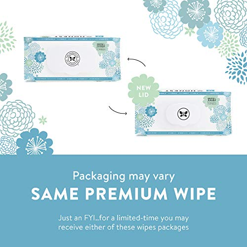 51I6hYcDazL - The Honest Company, Baby Wipes, Hypoallergenic Honest Wipes,576 Count