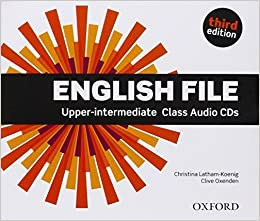 Book English File third edition: Upper-intermediate: Class Audio CDs by Christina Latham-Koenig (2014-01-30)
