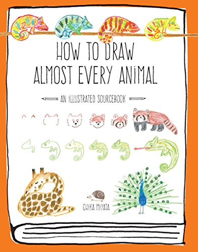 Illustration Draw How To (How to Draw Almost Every Animal: An Illustrated Sourcebook (Almost Everything))