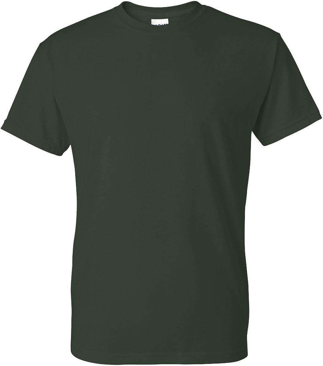 Garden T-shirt M L 2XL NWT Plays In The Dirt Green Cotton Short Sleeved Gildan
