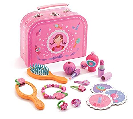 Kids Esthétique Maquillage Coiffure Role Play Set Princess Gift Pack