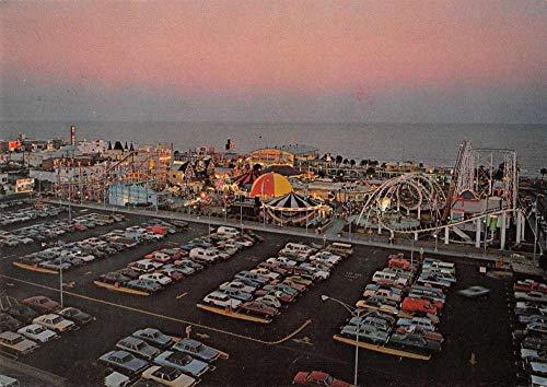 Myrtle Beach South Carolina Boardwalk Amusement Park Vintage Postcard JA455517