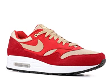f07d42346b Image Unavailable. Image not available for. Color: AIR MAX 1 Premium Retro ' RED ...