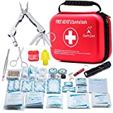 Compact First Aid Kit - Mini Survival Tools Box