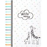 Carter's Hello World Animal Themed Bound Baby Memory...