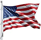 American Flag 10x19 Ft Nylon Presidential Series Sewn 10'x19' US Flag