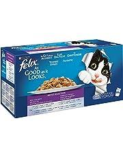 FELIX Le Ghiottonerie Multipack 44 Buste Da 100Gr Alimento Umido Per Gatti