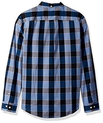 Original Penguin Men's P55 Plaid Dress Shirt