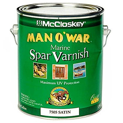 McCloskey/Valspar Spar Varnish - # 7505 Man O' War - 1 Gallon ~ - Varnish Spar Exterior