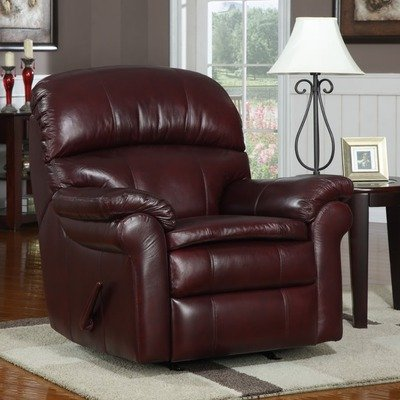 At Home Designs Sonoma Top Grain Leather Recliner (Furniture Leather Sonoma)