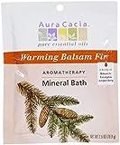 Aura Cacia Mineral Bath, Warming Balsam Fir, 2.5 Ounce