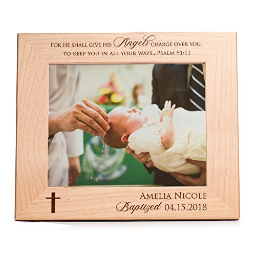 (Lifetime Creations Personalized Baptism Picture Frame (8x10))