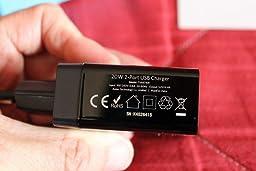 Anker Chargeur Secteur 24W 2 Ports USB avec Technologie IQ pour iPhone