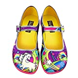 Hot Chocolate Design Mini Chocolaticas Lucy in The Sky Girls Mary Jane Flat Multicoloured HCD 30