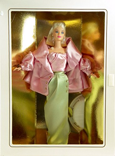 1997 - Mattel / Barbie Collectibles - Classique Collection / Evening Sophisticate Barbie - 7th in Designer Series by Robert Best - Doll Stand & COA - MIB / OOP - Rare - Collectible