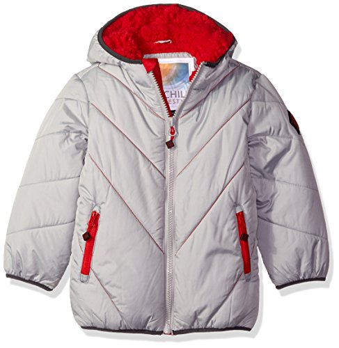 Bubble Solid Boys' Chill Big Jacket Platinum qwR0ngtx