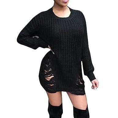 Long ladies jumpers dress