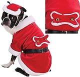 Zack & Zoey Santa Paws Costume Sm [Misc.]