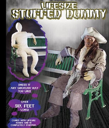 Morris Costumes Costumes For All Occasions Mr124202 Dummy Poseable With Hands-Arms]()