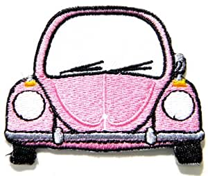 """VW Volkswagen Beetle GTI Golf Cvertible Embroidered Sew iron on Patch Dimensions:Size 2.75""""Width x 2.25""""Height Sold SSLINK"""