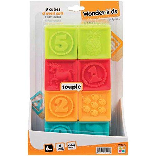 WDK Partner Cubes d'Eveil 8 Pièces A1500153
