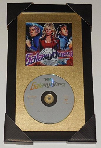 Tim Allen Autographed Dvd Display (framed & Matted) Galaxy Quest!