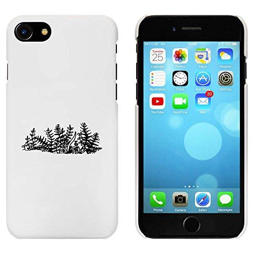 Blanc 'Fougère' étui / housse pour iPhone 7 (MC00086715)