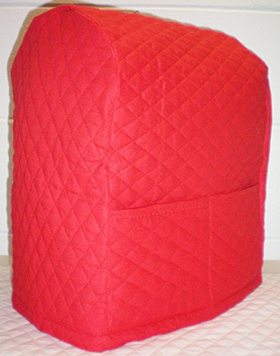 Quilted Kitchenaid Lift Bowl Stand Mixer Cover (Red)