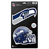 "NFL Seattle Seahawks WCR18845014 Magnets (2 Pack), 5"" x 9"""
