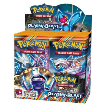 Pokémon Trading Card Game: Black & White —Plasma Blast Booster Display (36 Packs) by Pokmon