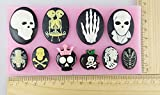Anyana Skull Skeleton Fondant Silicone Mold Soap Chocolate Mould Baking Cake Mold Tool Cake Decorating Pastry Gum Pastry Tool Kitchen Tool Sugar Paste Baking Mould Cookie Pastry