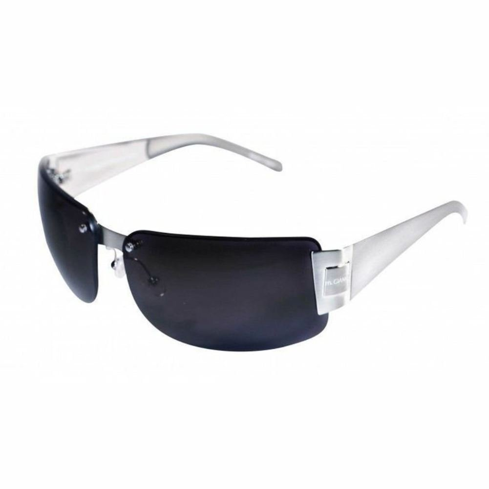 m.GIANNI Collection Mark Shield//Wrap Around 68mm Sunglasses