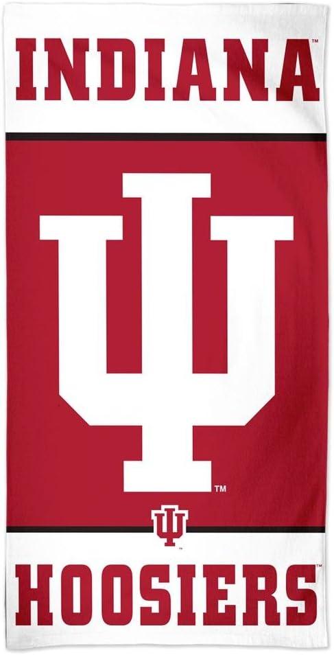 """NCAA Indiana Wincraft 30/"""" x 60/"""" Pool Beach Towel"""