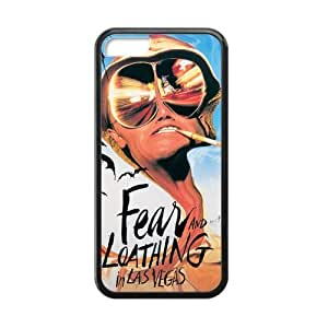 Fear and Loathing in Las Vegas Cell Phone Protector for iPhone 5C Plastic and TPU (Laser Technology)