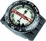 Cressi Compass w/Strap and Hose Mount
