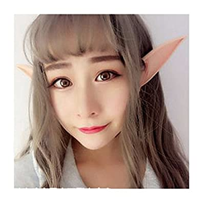 Edtoy 1 Pair Halloween Cosplay Costumes Pointed Prosthetic Ear Tips: Toys & Games