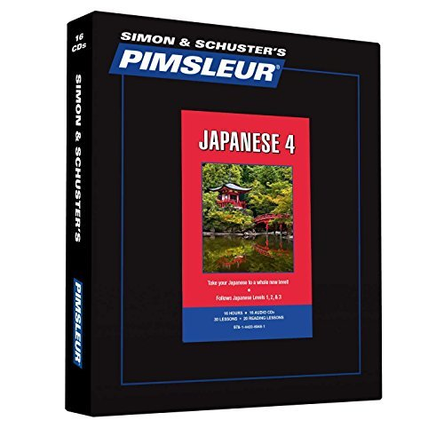 Download By Pimsleur Pimsleur Japanese Level 4 CD: Learn to Speak and Understand Japanese with Pimsleur Language Programs (2nd Edition, Unabridged, 30 Lessons) [Audio CD] ebook