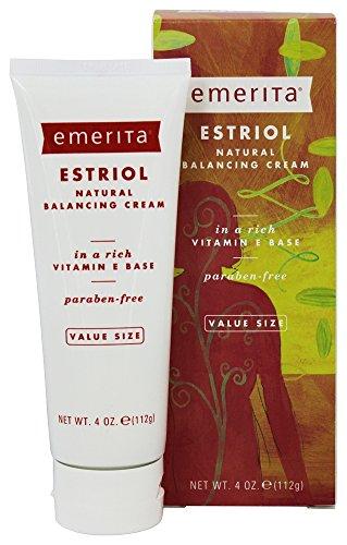Estriol naturel Balancing Cream émérite 4 oz Cream