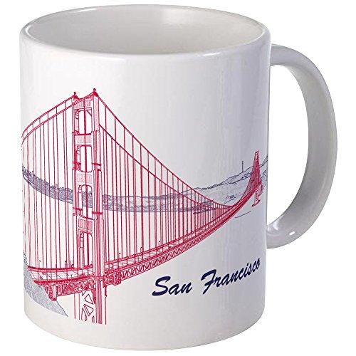(CafePress San Francisco Mug Unique Coffee Mug, Coffee Cup)